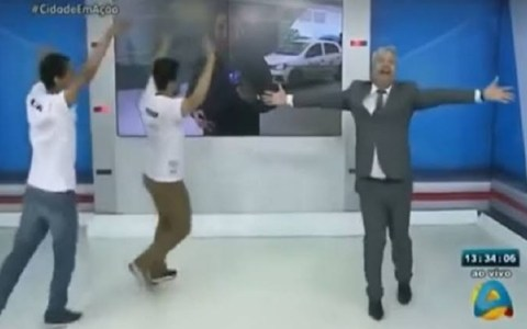video apresentador paraibano canta e danca para festejar a morte de assaltante assista