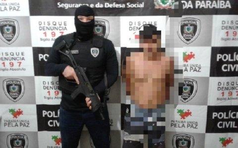 policia civil em sao bento pb prende foragido da justica do rn