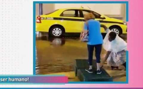 vaquinha online arrecada quase r 100 mil para homem que ajudou idosa em temporal veja o video 1