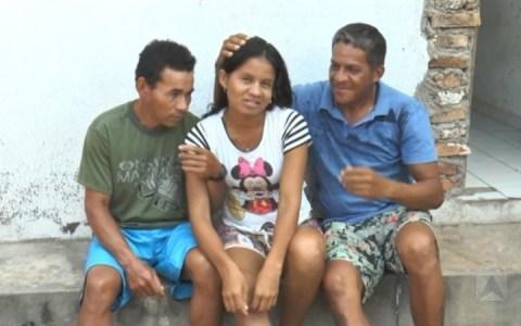 mulher vive com dois maridos na mesma cas no nordeste veja o video