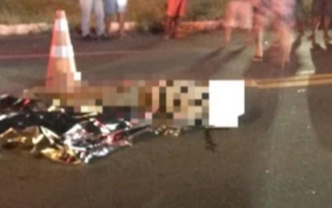 homem vem a obito depois de ser atropelado por moto na br 230 no sertao da paraiba