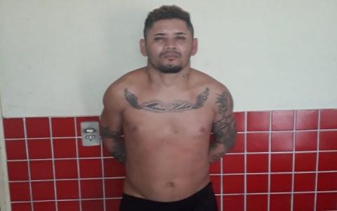 integrante do pcc e preso pela policia militar de tenente ananias rn