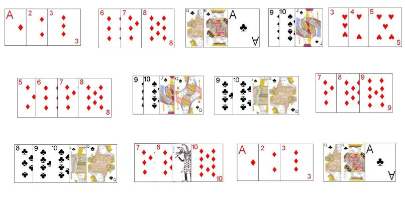Continental Rummy Card Game Rules Ziesite