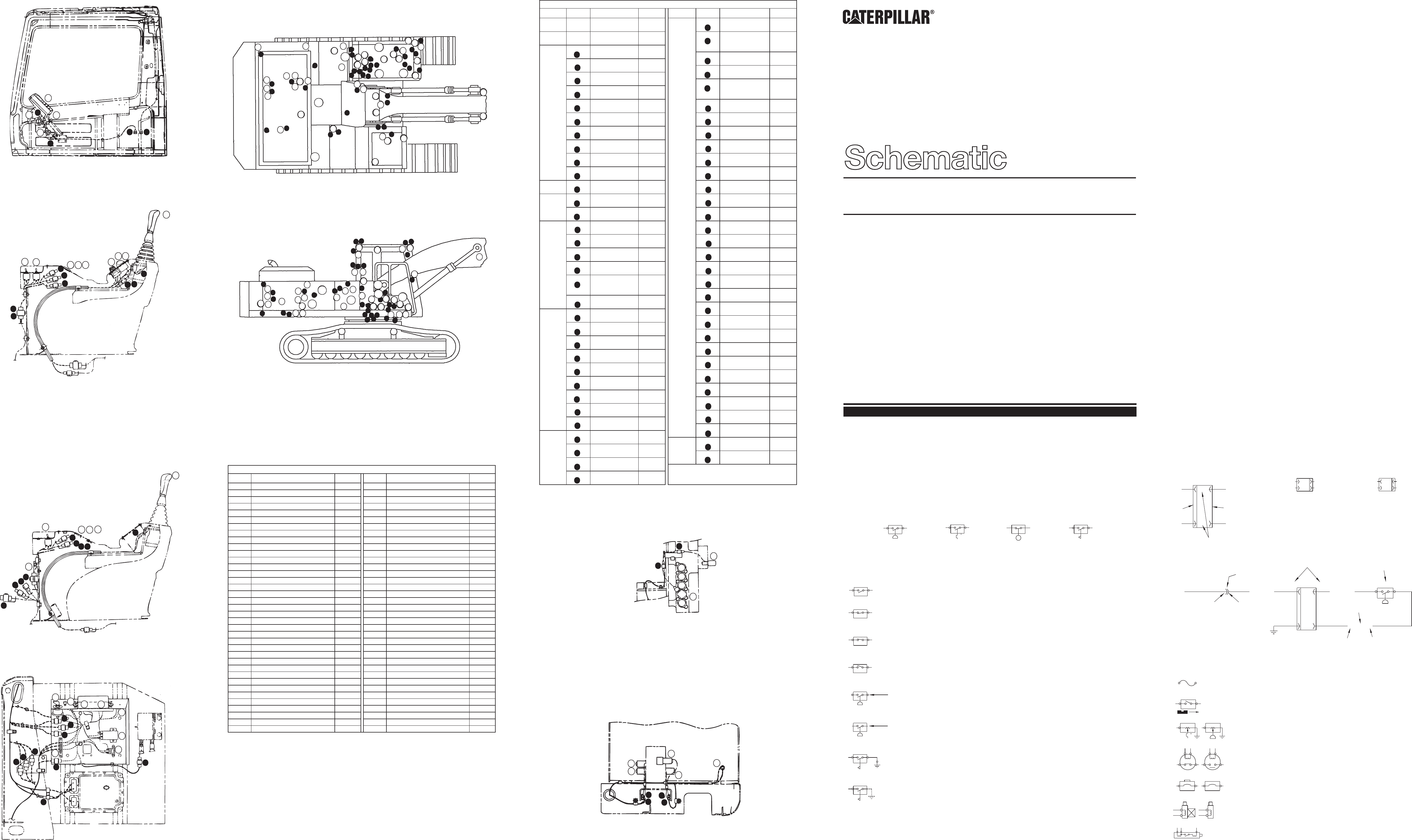 322 Electrical System Schematic