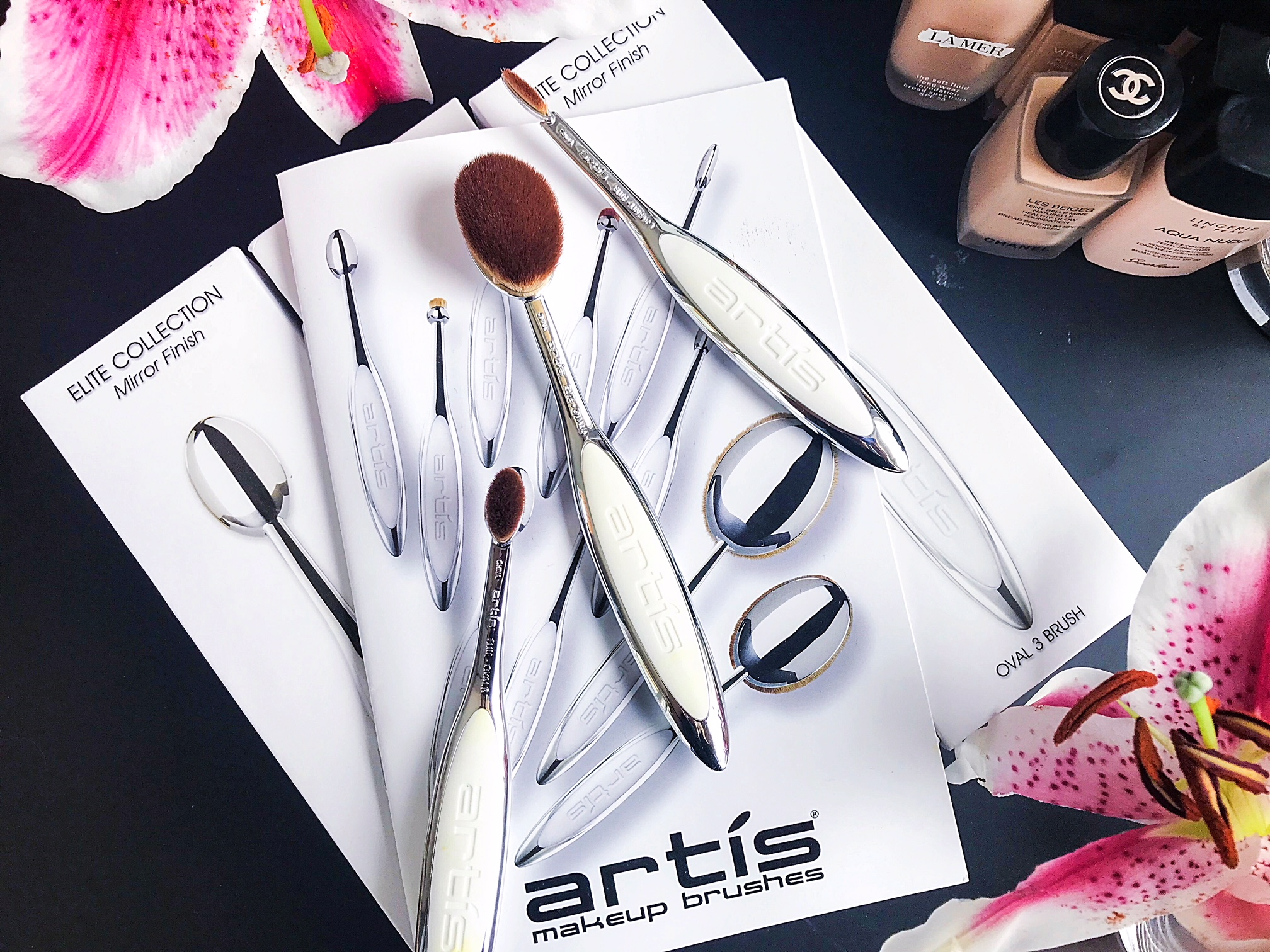My Artis Brush Collection Artis Linear 1 Oval 3 And