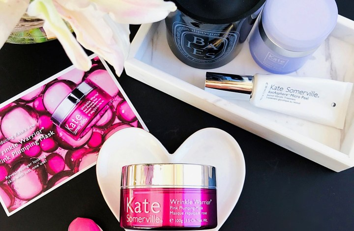5 Reasons to Mask Right Now| ft. Kate Somerville Wrinkle Warrior Pink Plumping Mask