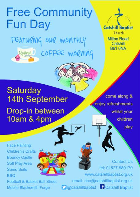 community fun day 14th September