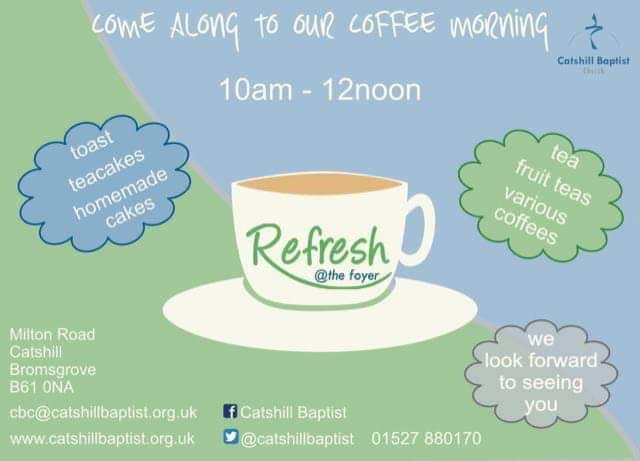 Refresh Coffee Mornings