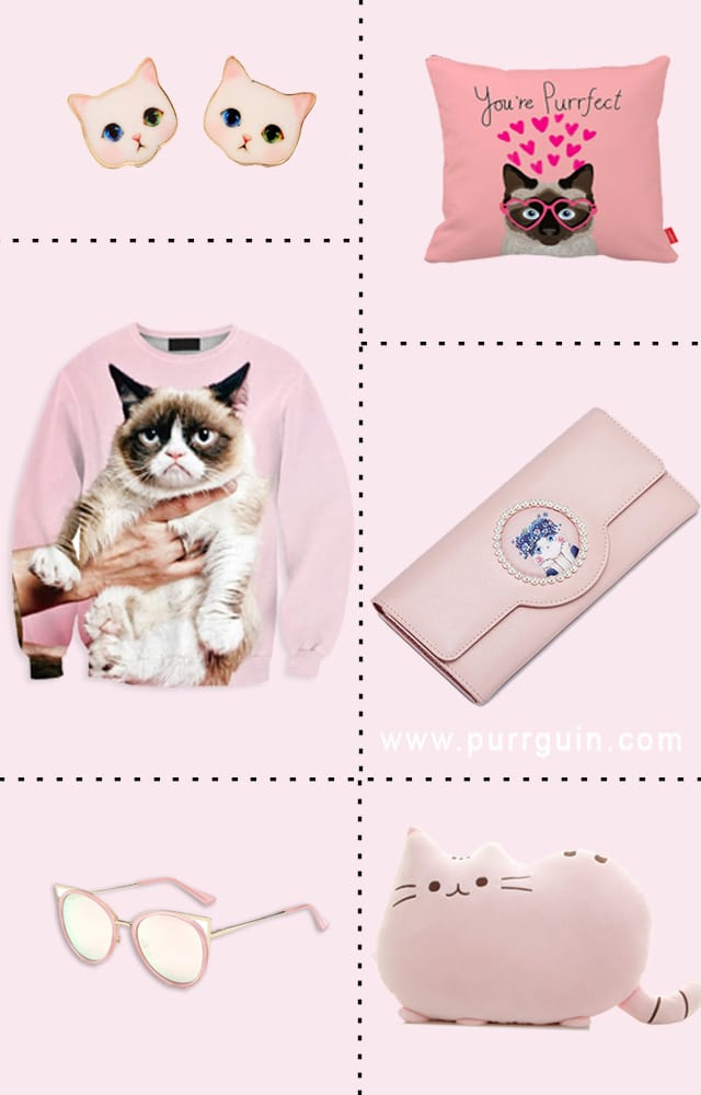 PinkItems Must have Pink Items for Cat Lady