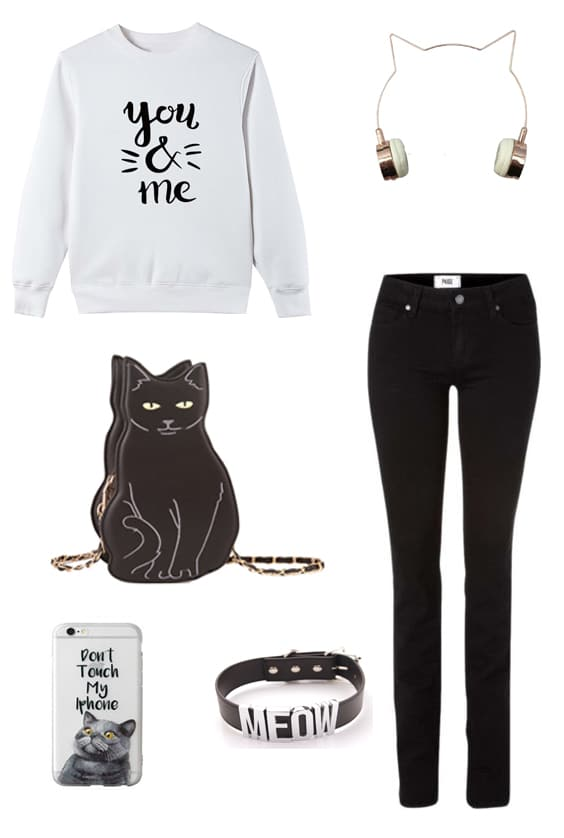 Outfit CatLover 01 Cat Lady Outfit Style | Shop the look