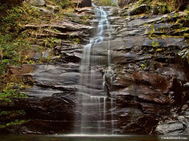 Platte Clove Waterfall