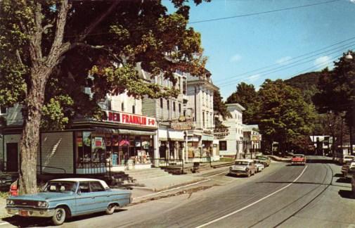 Main Street along Stamford (1963/64)