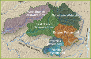 Catskill Streams Map