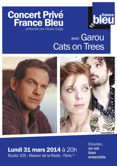 cats on trees france bleu concert