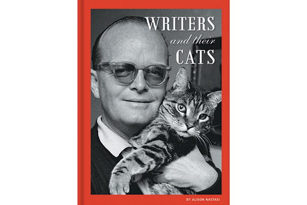 Writers and Their Cats by Alison Nastasi.