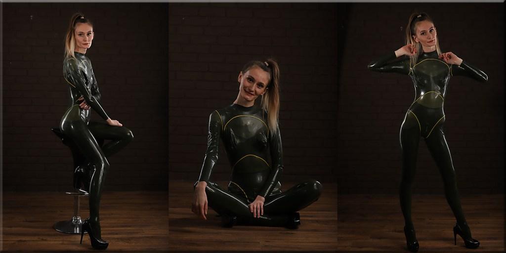 Cat im Atlantis-suit