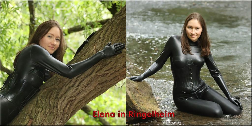 Elena in schwarz