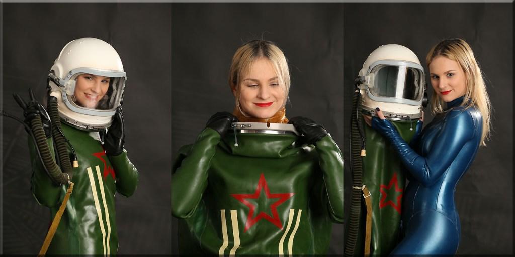 Nessya im Jetfighter