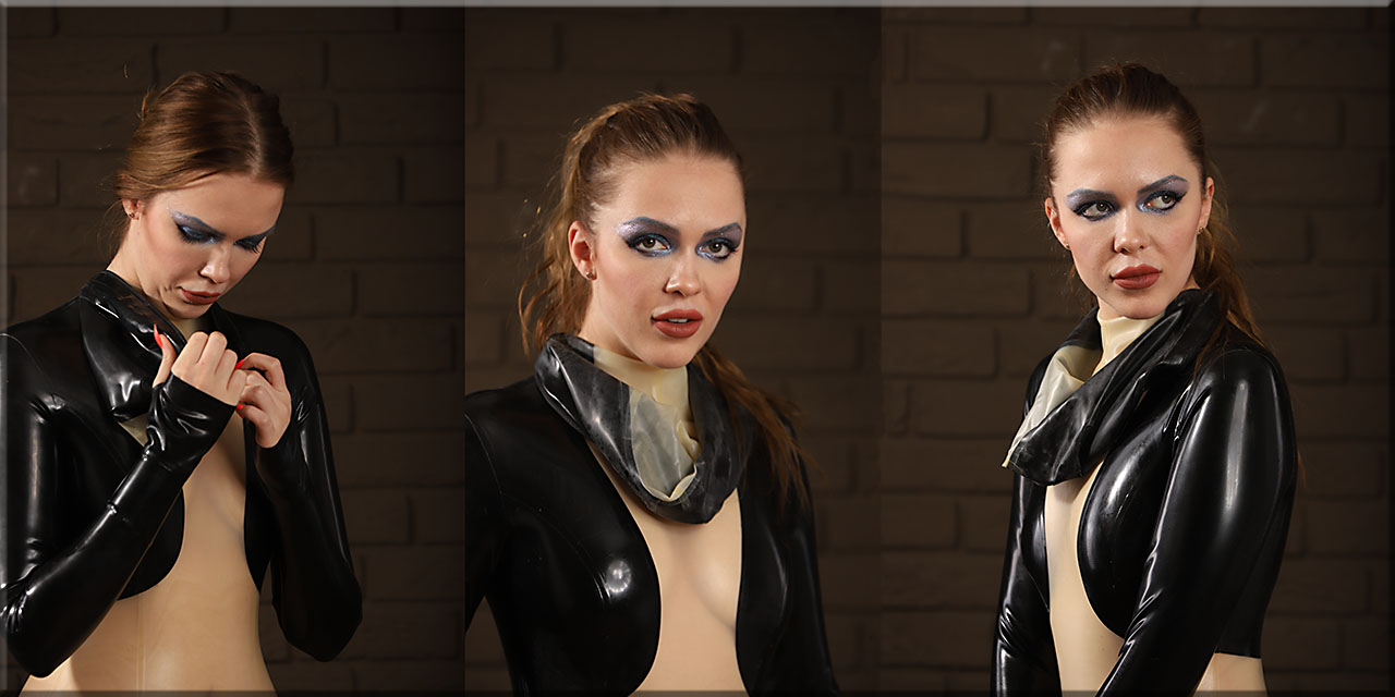 Olga mit dem Breathplay-Catsuit