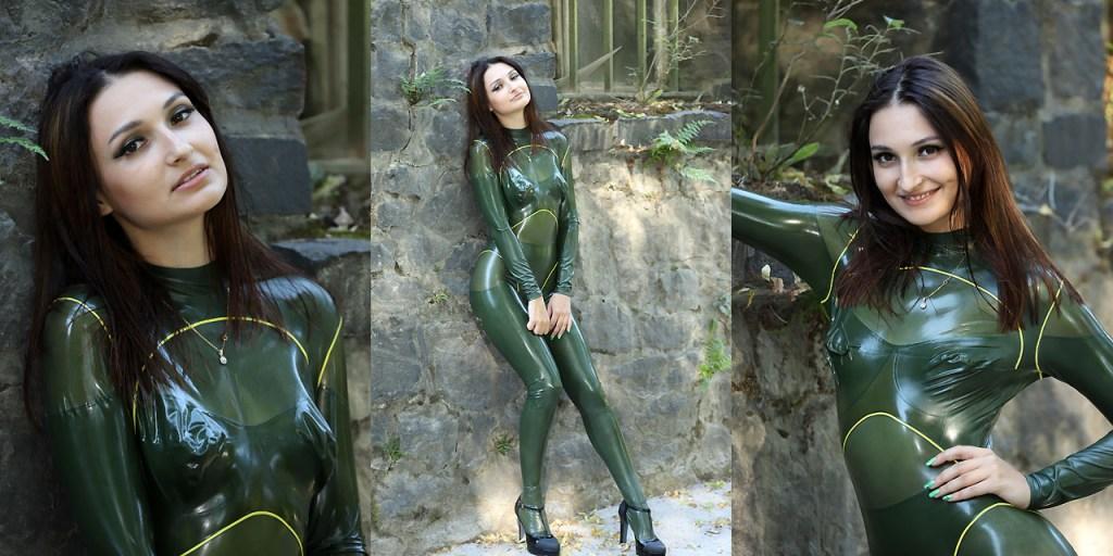 Rita in grün