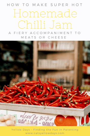 Homemade Thai Chilli Jam Recipe - A fiery accompaniment to meats or cheese