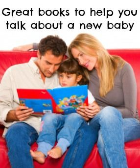 Best books for new siblings - Great books to help you talk about a new baby