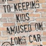 The secret to keeping kids amused on long car journeys