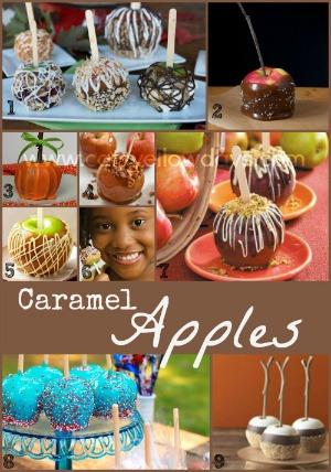 Recipes for homemade Caramel Apples