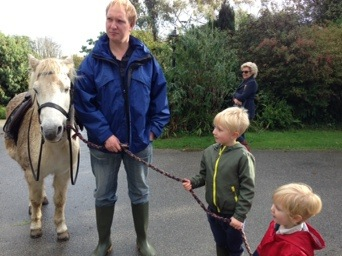 pony rides at bosinver cornwall