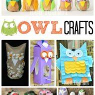 Owl Crafts for Autumn #AutumnLove