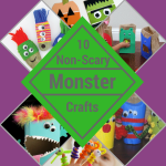 10 Non-Scary Monster Crafts