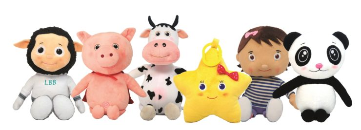 Little baby bum character toys