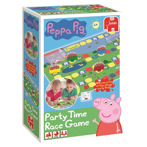 Win a Peppa Pig Party Time Race Game