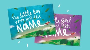 Win a personalised lost my name book