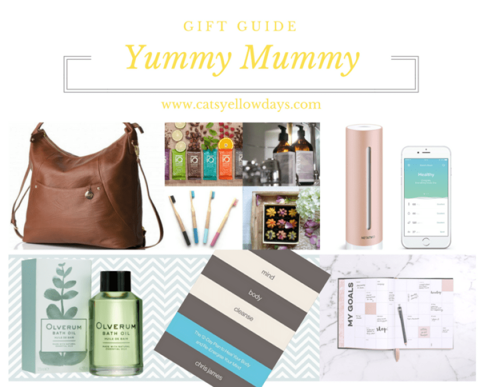Yummy Mummy Gifts - Including great new mum gifts for Mummy's first Christmas like the perfect Yummy Mummy changing bag