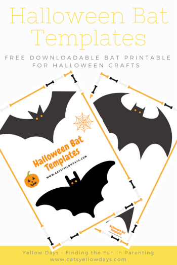 Free printable Halloween Bat Templates for you bat decor and crafts. A bat cut out to use as a stencil for all your Halloween projects.