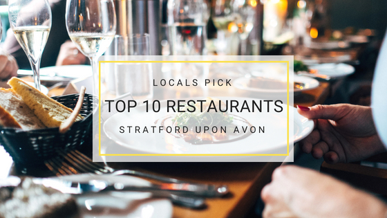 Stratford Upon Avon Restaurants