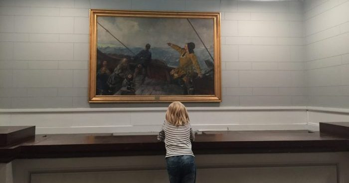 Things to do in Oslo with kids. National Gallery