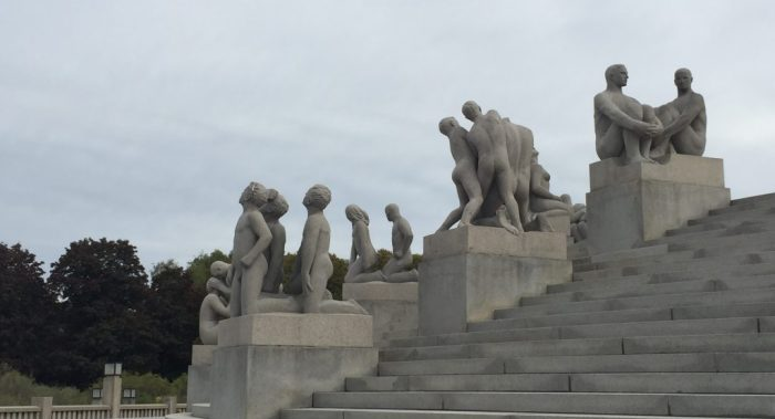 3 days in Oslo - Vigeland sculpture park