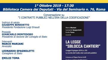 """La Legge """"Sblocca Cantieri"""""""