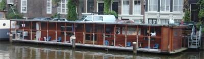 DE Poezenboot Amsterdam