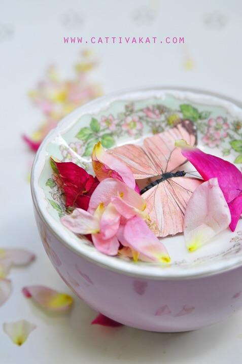 Mood Rose butterfly diy