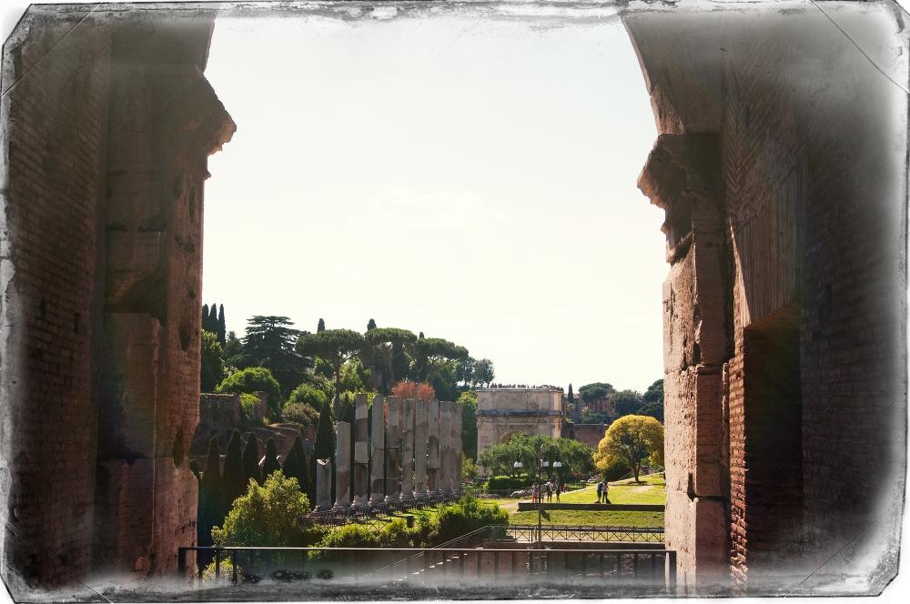Ausblick Colosseum