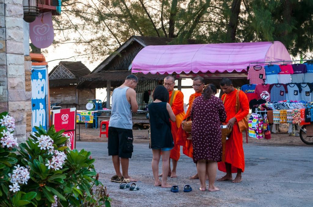 strand-Mönche Thailand