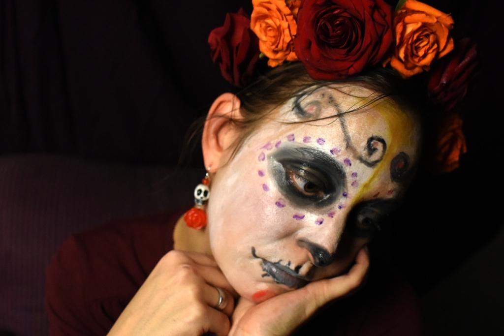 Dias Los Muertos catrina make up schminken
