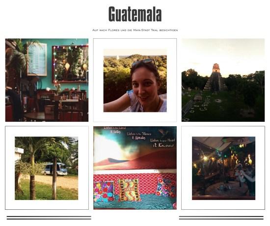 Reise nach Flores Tikal