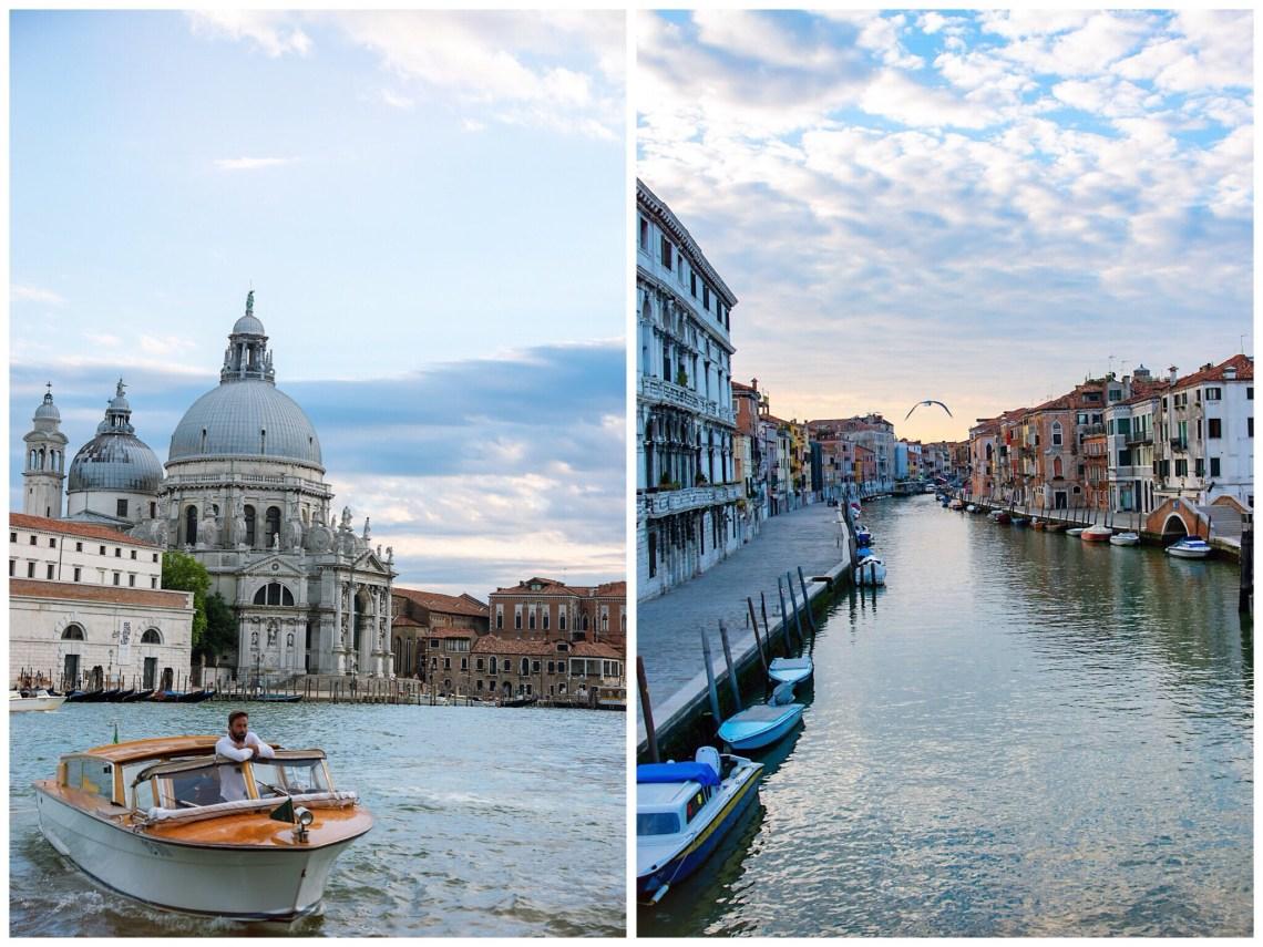 Kanäle Venedig Dogenpalast