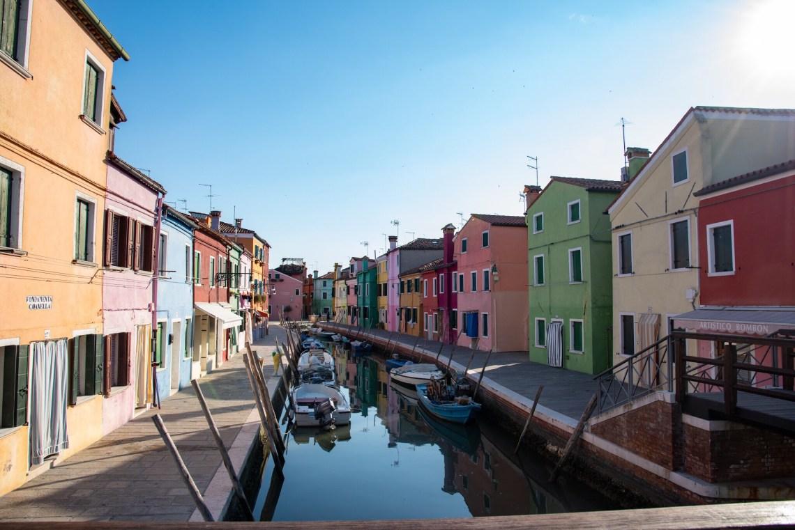 Italy houses Venezia