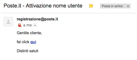 mail poste
