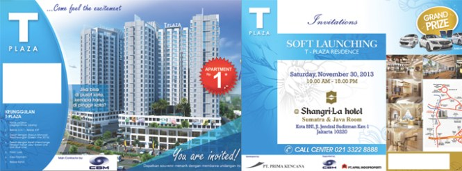 Invitation You Are Cordially Invited To T Plaza Apartment Soft Launching